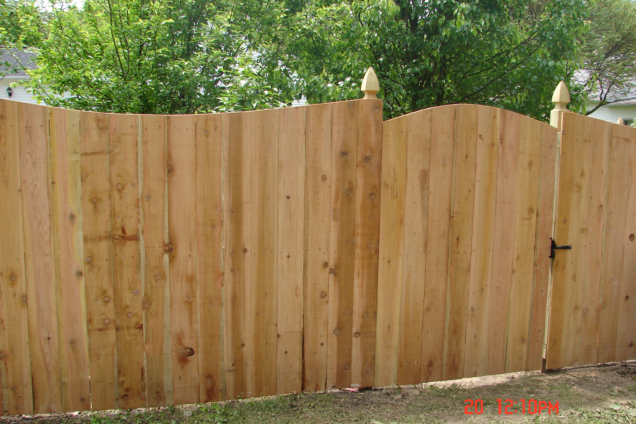 Cedar picket fence designs 2017 2018 best cars reviews for Types of fences